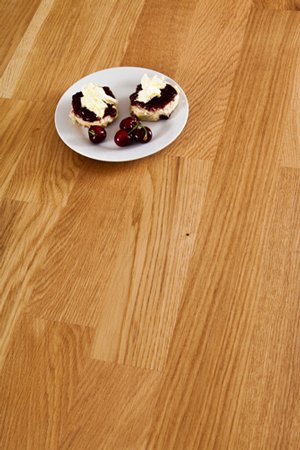 Deluxe Oak Worktop 90mm Stave 2M X 620 X 40mm