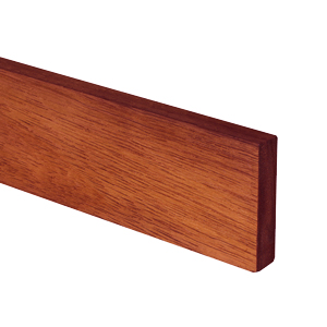 Deluxe Sapele Worktop Upstand 90mm Stave 3M X 80 X 18mm