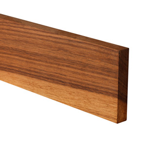 Full Stave Black American Walnut Worktop Upstand 3M X 100 X 20mm