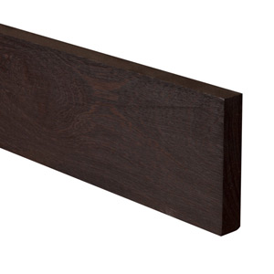 Full Stave Wenge Worktop Upstand 3M X 100 X 20mm