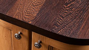 Full Stave Wenge Worktop Gallery
