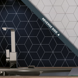 Geometric Tile Splashback