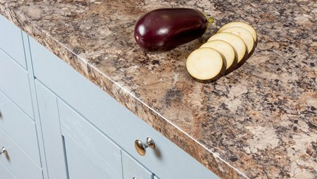 Granite Laminate Worktops (Winter Carnival) Gallery