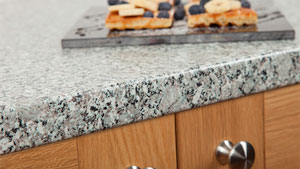 Grey Granite Laminate Worktops - Dolomite Gallery