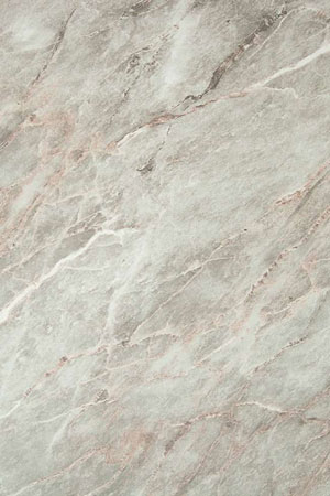 Grey Marble Solid Laminate Worktop Upstand - 3000mm x 95mm x 12mm