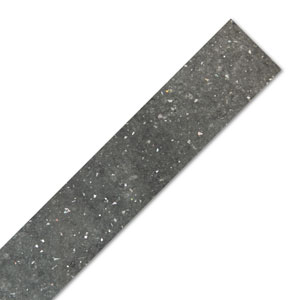 Grey Quartz Laminate Worktop Edging Strip - Brasilia - 1300mm x 28mm