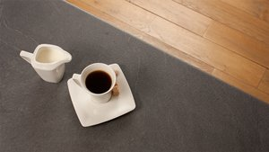 Grey Slate Laminate Worktops - Luna Nero Gallery