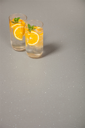 Grey sparkle solid laminate worktops