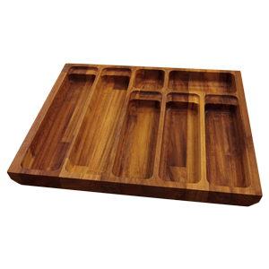 Solid Oak Cutlery Drawer Inserts