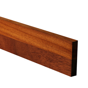 Iroko Worktop Upstand 3M X 80 X 18mm