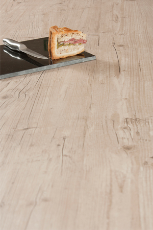 Light Wood Laminate Worktop Upstand - Capitol Pine - 3m x 95mm x 12mm
