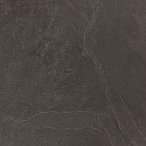 Grey Slate Laminate Kitchen Splashback - Luna Nero - 3M x 600mm x 6mm