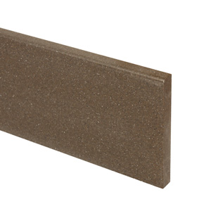 Mocha Earthstone Worktop Upstand - 1.8m x 100mm x 13mm