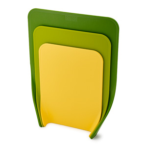 Joseph Joseph Nest 3-Piece Chopping Board Set - Green