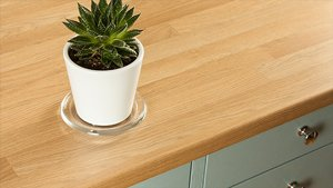 Oak Block Laminate Worktops Gallery
