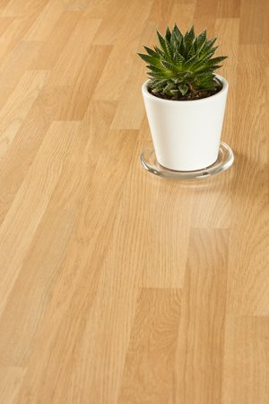 Oak block laminate worktops
