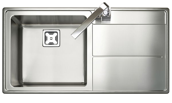 Rangemaster Arlington Sink - Single Bowl (RH Drainer)