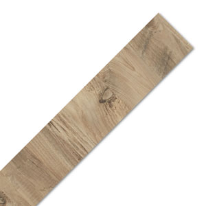 Rustic Wood Laminate Worktop Edging Strip - Mississippi Pine 1300mm x 44mm