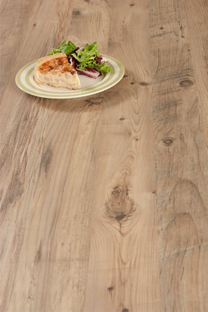 Rustic wood laminate worktops
