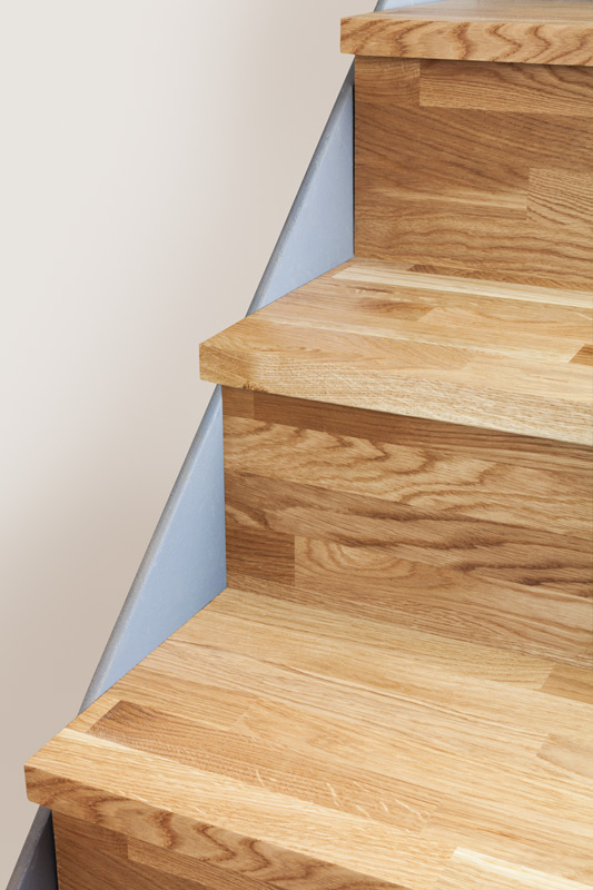 Solid Oak Stair Cladding Kit 1 Step Worktop Express