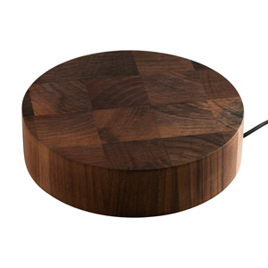 Solid Walnut Worktop Wireless Charger