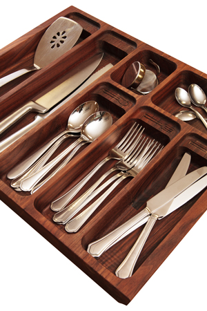 Solid Wood Cutlery Drawer Inserts