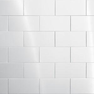 Stainless Steel Tile - 200mm x 100mm x 8mm (Subway)