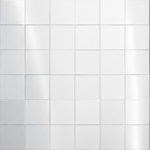 Stainless Steel Tile - 100mm x 100mm x 8mm