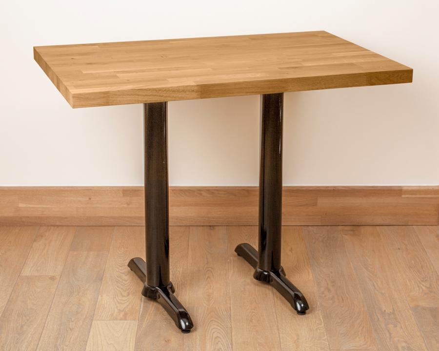 Twin Cast Iron Table Base Metal Table Leg Cast Iron Table Leg - Cast iron restaurant table bases