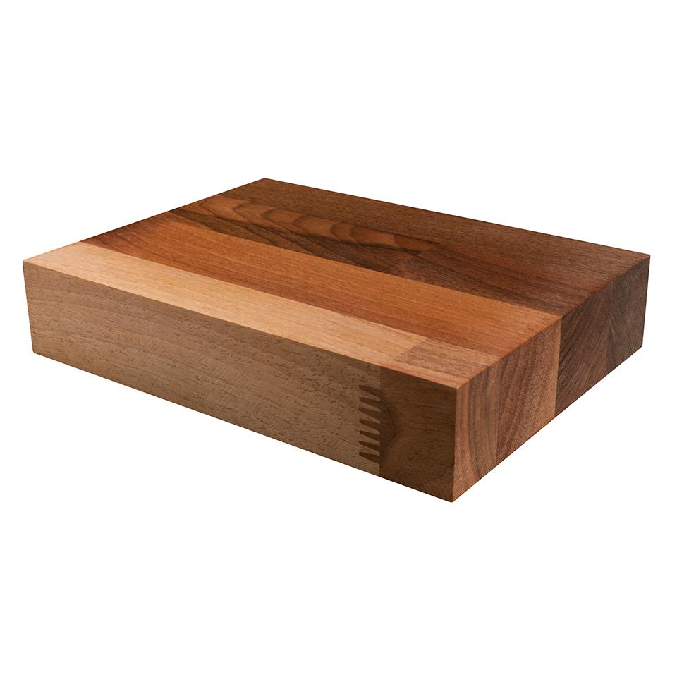 Kitchen Worktops Express: Walnut 200mm X 150mm X 40mm Wooden Worktop Samples