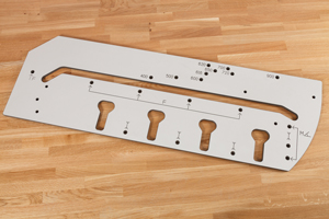 Worktop Jig 900mm - Solid Laminate