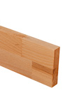 Beech Worktop Upstand 3M X 80 X 18mm