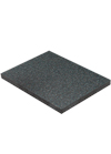 Black Granite Solid Laminate Worktop - Premium Sample