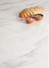 Marble Laminate Worktop Upstand - Calcutta - 3M x 95 x 12mm