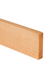 Deluxe Ash Worktop Upstand 90mm Stave 3M X 80 X 18mm