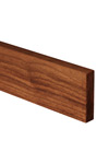 Deluxe Black American Walnut Worktop Upstand 90mm Stave 3M X 80 X 18mm