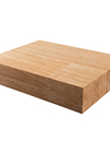 Deluxe Prime Oak Worktop Sample 200mm X 150mm X 40mm