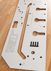 Forge Steel Worktop Jig 700mm
