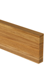Full Stave Oak Worktop Upstand 3M X 100 X 20mm - 40mm Stave