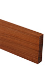Full Stave Sapele Worktop Upstand 3M X 100 X 20mm