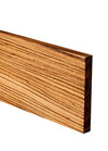 Full Stave Zebrano Plinth 3M X 150 X 20mm
