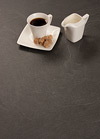 Grey Slate Laminate Worktop Upstand - Luna Nero - 3M x 120 x 18mm