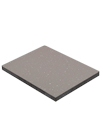 Grey Sparkle Solid Laminate Worktop - Premium Sample