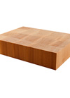 Maple End Grain Butchers Block Sample 200mm X 150mm X 40mm
