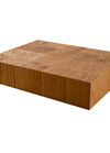 Oak End Grain Butchers Block Sample 200mm X 150mm X 40mm