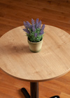 Laminate Oak Round Table Top - 600mm x 22mm