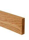 Prime Oak Worktop Upstand 3M X 80 X 18mm