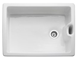 Belfast sinks have a traditional style but can still be used in contemporary kitchens.