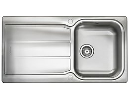 Glendale Stainless Steel Rangemaster Sink - Single Bowl