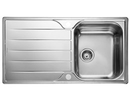 Rangemaster Michigan Modern Stainless Steel Sink - Single Bowl